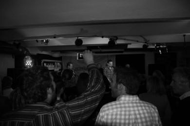 Fans von Vestparken im Jazzclub Bielefeld