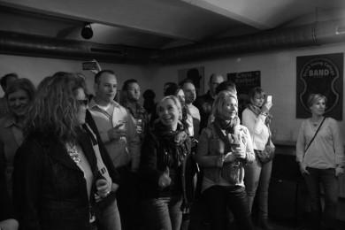 Publikum bei Vestparken Konzert im Jazzclub Bielefeld