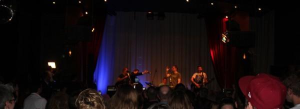 Good old Bielefeld - das Publikum geht mit