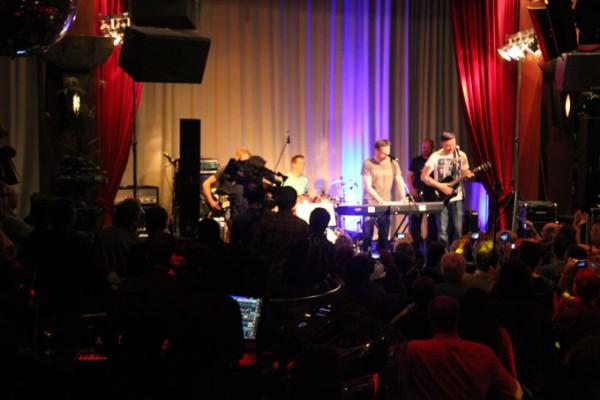 Auf der Bühne mit G.O.B.