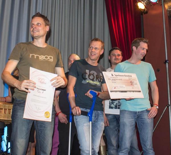 Vestparken gewinnt bei ein Song für Bielefeld